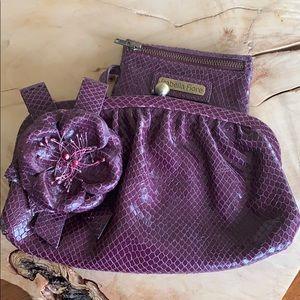 2/$40 Isabella Fiore clutch